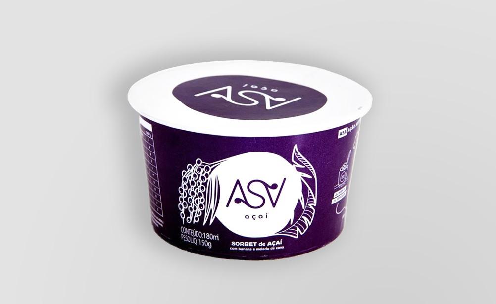 Embalagem Biodegradável no ASA Açaí