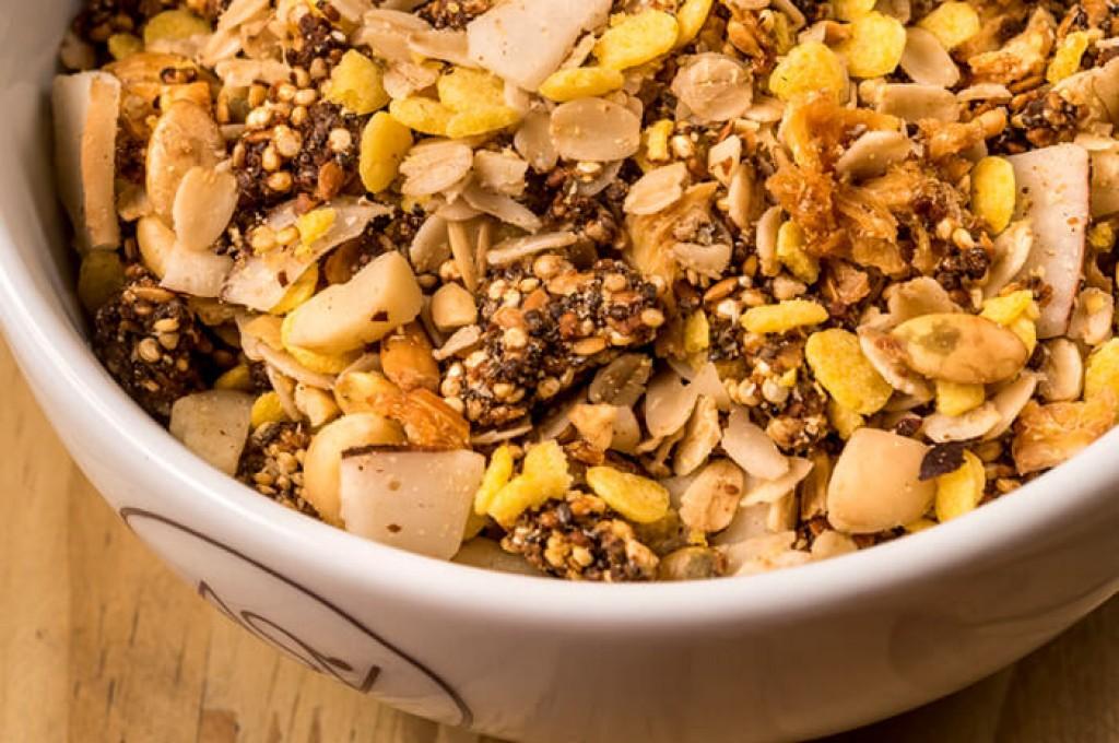 O que tem na granola?