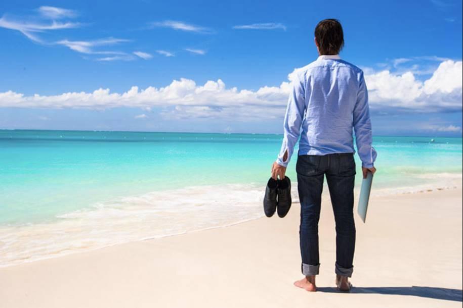 Morar na praia é tudo de bom!