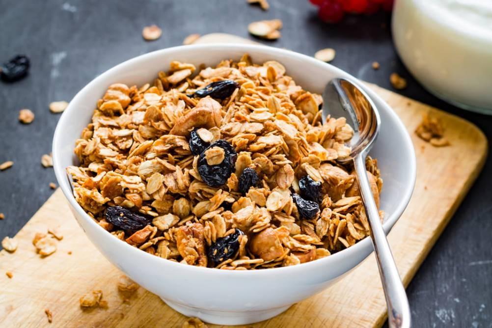 Granola na Alimentação - Benefícios